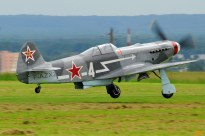 Yak-3 F-AZXZ (Photo © Jean-Pierre Touzeau)