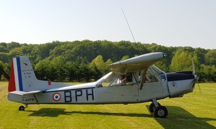 Nord 3400 Norbarbe F-AZFM (Photo Margrain) prof1