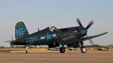 Chance-Vought F4U-5NL BuNo 124724 - F-AZEG Corsair (Photo © David Whithworth)