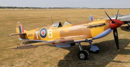 Spitfire LF VC JG891 G-LFVC (Photo © Peter R. Arnold)
