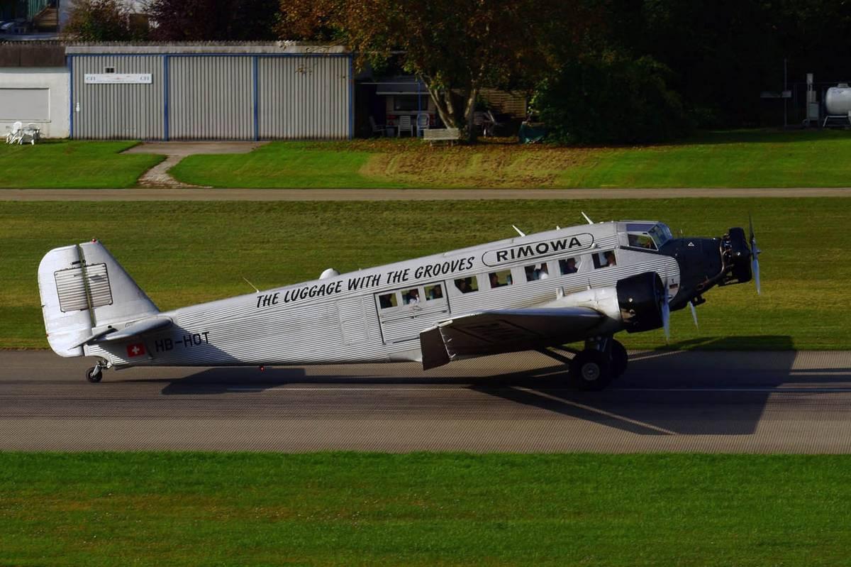 Le Ju 52 HB-HOT en 2017. (Photo Lutz Blohm</a data-recalc-dims=