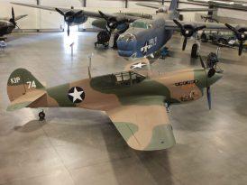 """P-40E """"41-25163"""" (Photo © James Stemm)"""