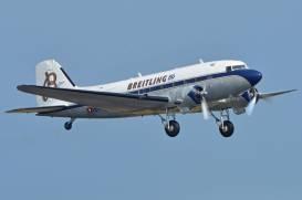 Le Douglas DC-3 HB-IRJ (Photo Alan Wilson (CC BY-SA 2.0))