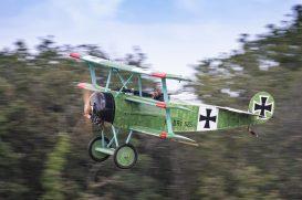 Le Fokker DR.I F-AZVD ( Photo © Damien Defever )