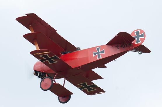 Fokker Dr.I F-AYDR ( Photo © Frederick Vandentorren )