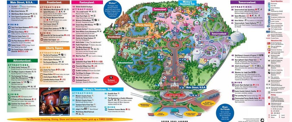 Plan du Magic Kingdom
