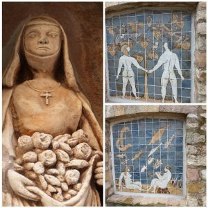 L'Art est également au rendez-vous au quartier médiéval du Parage...