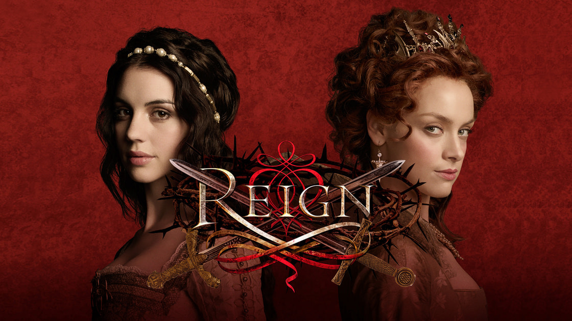 "Parmi mes ""ronrons"" série : Reign."