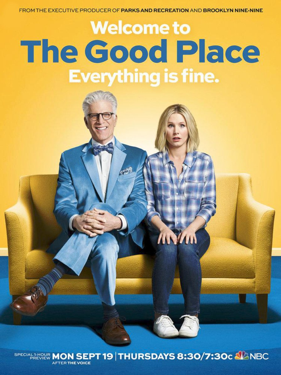 "Ma nouvelle série fétiche ""The Good Place""."
