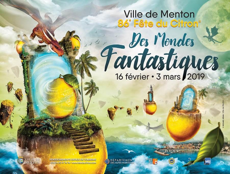 L'Affiche de la fête du Citron 2019.