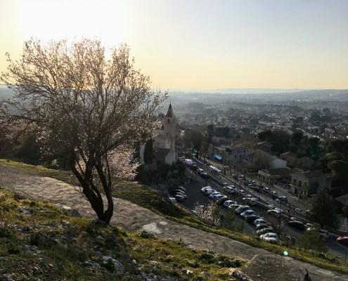 La saison idéale pour prendre de sublimes clichés du village de mon enfance ...