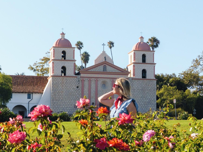 Virée à Santa Barbara en robe Chambray.