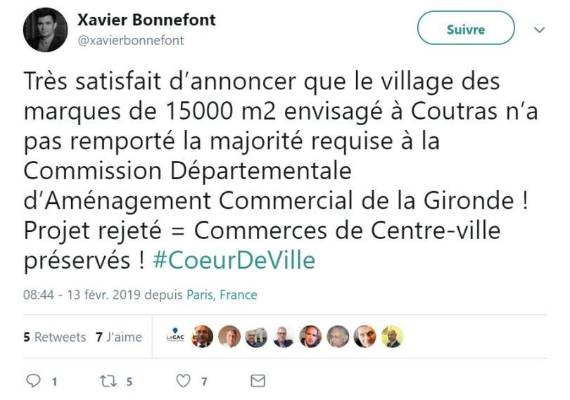 village de marques de Coutras