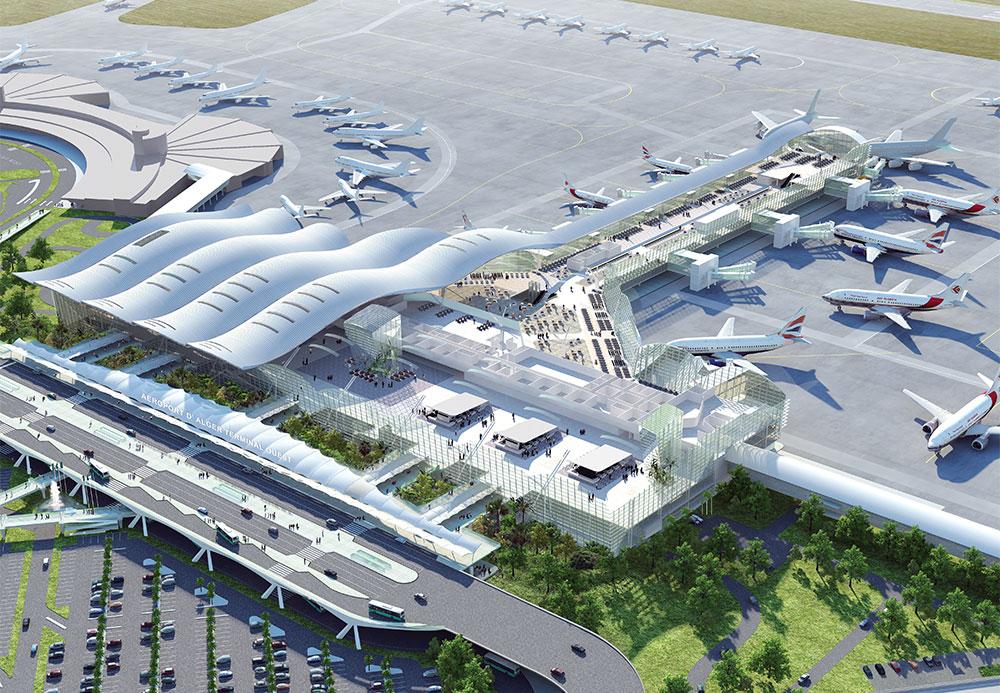 Le Nouvel Aeroport D Alger Et Sa Gare Bientot Inaugures