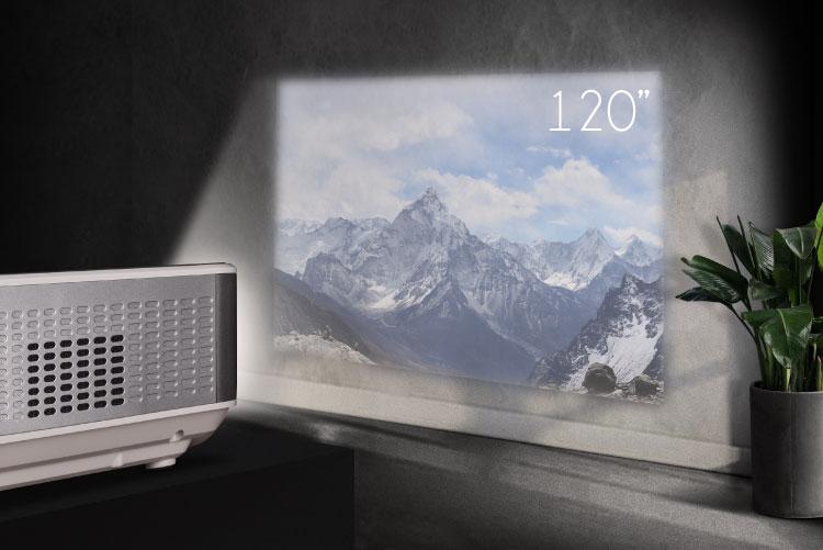 """Proiector LED Kruger&Matz 120"""""""