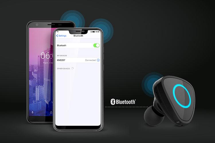 Casca Bluetooth cu apelare vocala