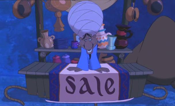 Aladdin 1992 Disney Au Pays Des Barbares Le Cinma