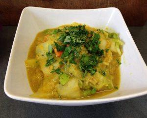 Möhren-Orangen-Chinakohl Curry