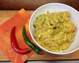 Avocado Mango Chili Guacamole