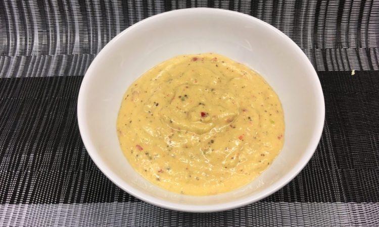 Mango Chili Dip mit Cashews und Ingwer