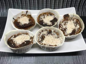 Süßkartoffel Polenta Muffins