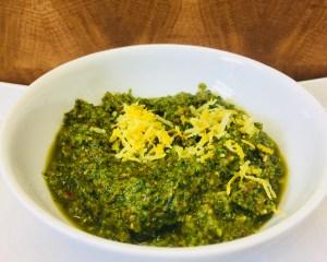 Zitronen Salbei Mandel Pesto