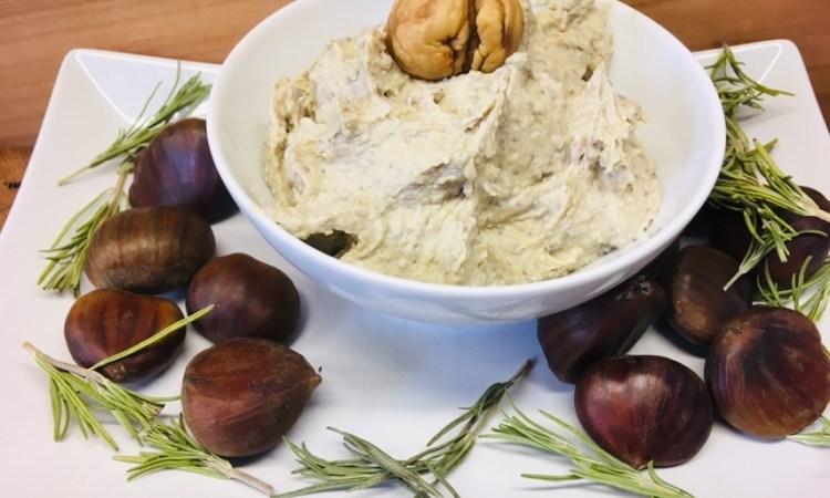 Kastanien Hummus