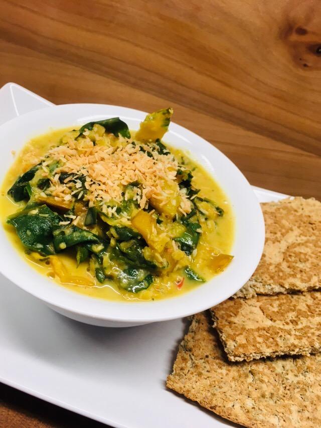 Mangold Linsen Curry