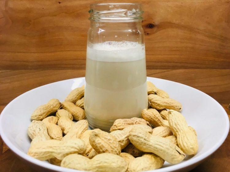 Erdnuss Milch - selbst gemacht