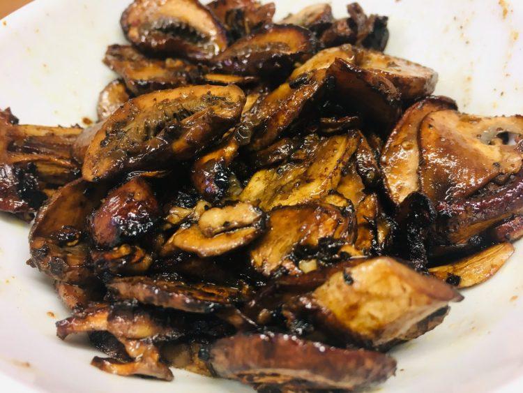 Geröstete Balsamico Portobello Pilze