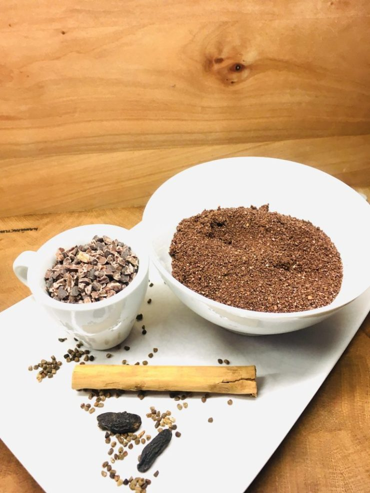 Gesunde Schokostreusel aus Kakao Nibs