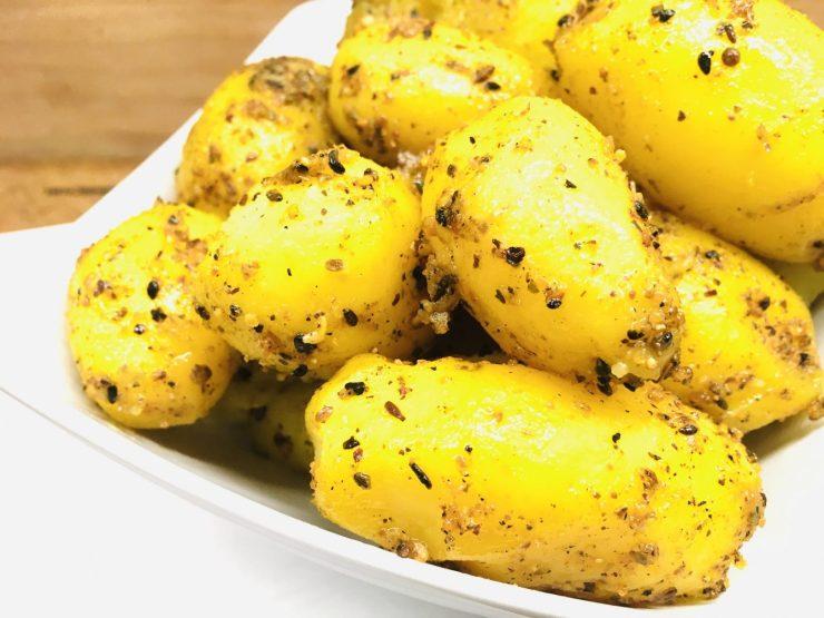 Kartoffeln mit Dukkah