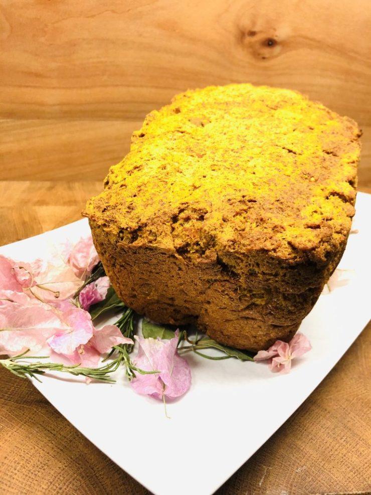 Süßkartoffel Kokos Brot