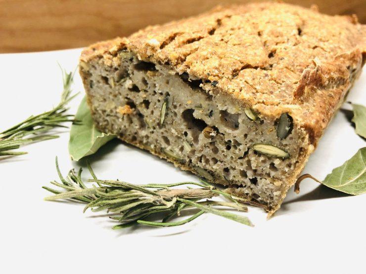 Fermentiertes Buchweizen Brot