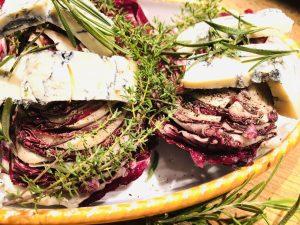 Radicchio mit Gorgonzola und Kastanienhonig