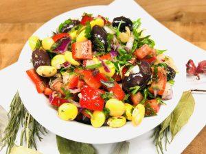 Mediterraner Lupinen Salat