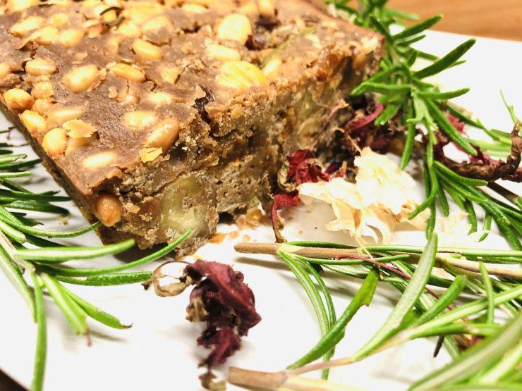 Castagnaccio Maronen Kuchen