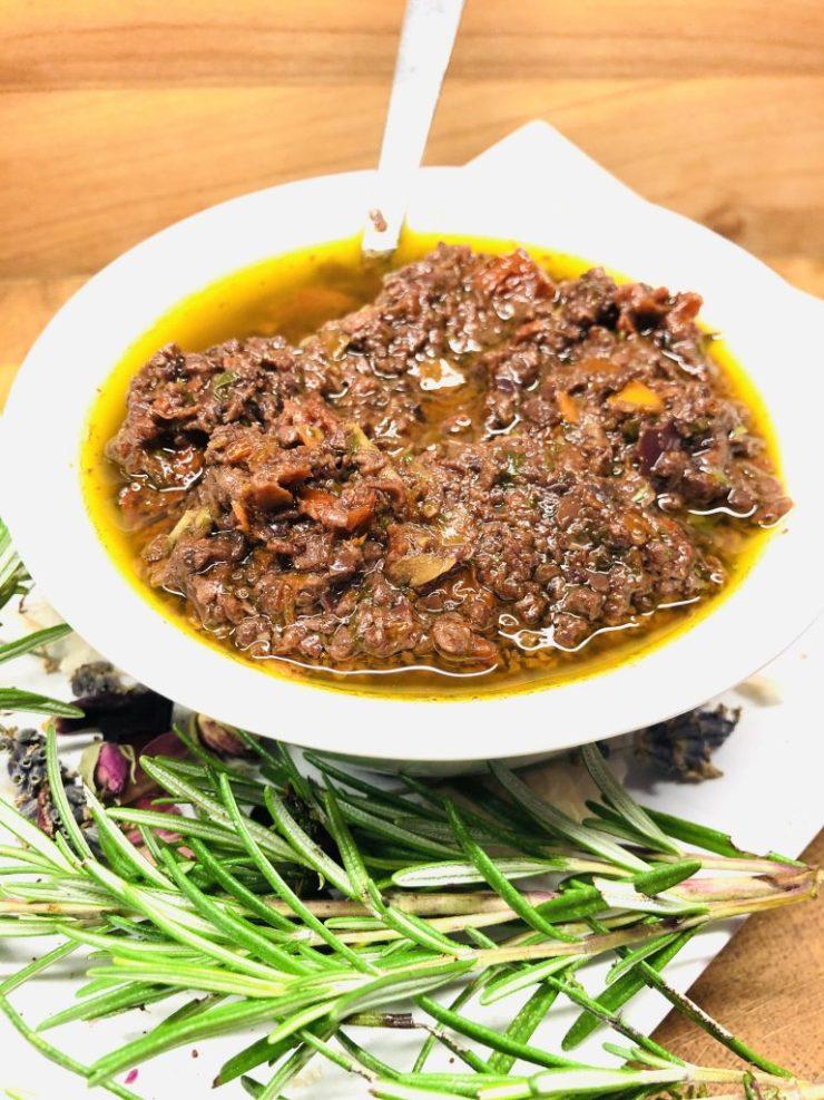 Vegane Salsa Etrusca Sauce