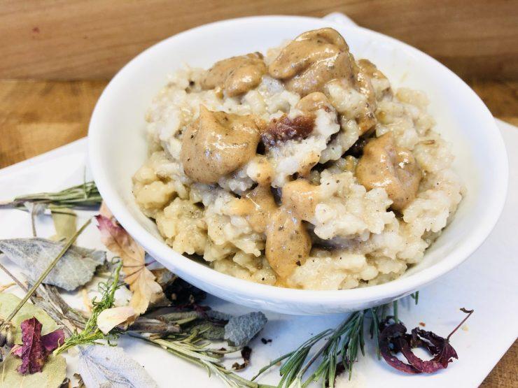 Milchreis Karamell Porridge
