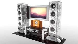 luxury home cinema kit