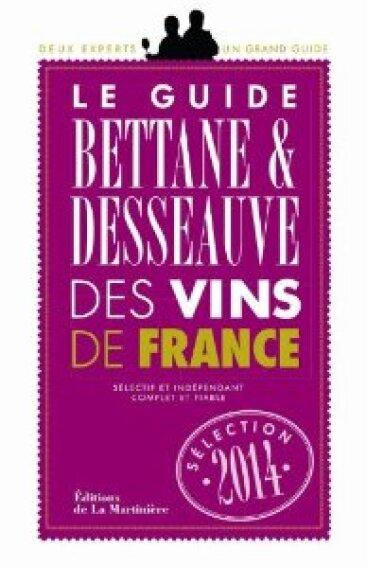Bettane & Desseauve – 2 étoiles Grand guide des vins de France