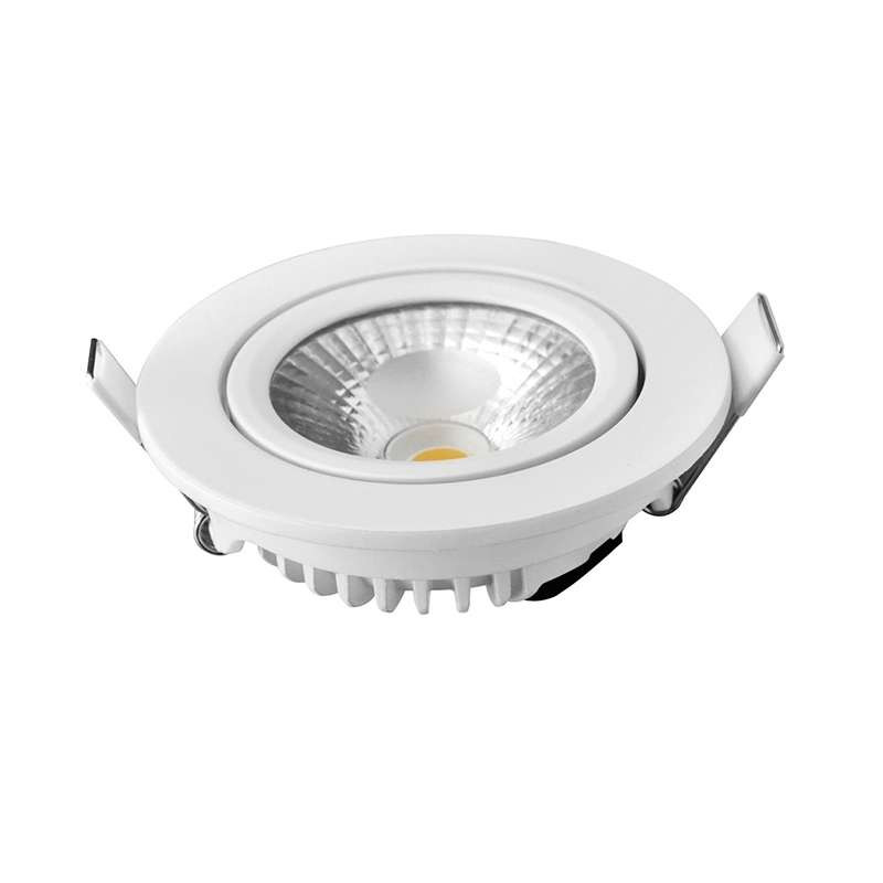 spot encastrable 8w led equivalent 70w blanc chaud 2700k