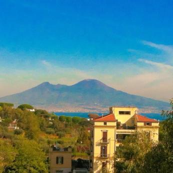 Il Vesuvio visto da Posillipo