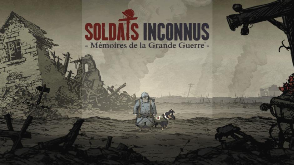 Soldats Inconnus - Mémoires de la Grande Guerre title screen