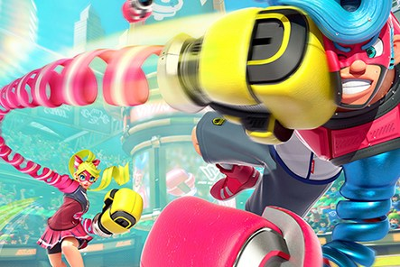 Arms Switch Nintendo