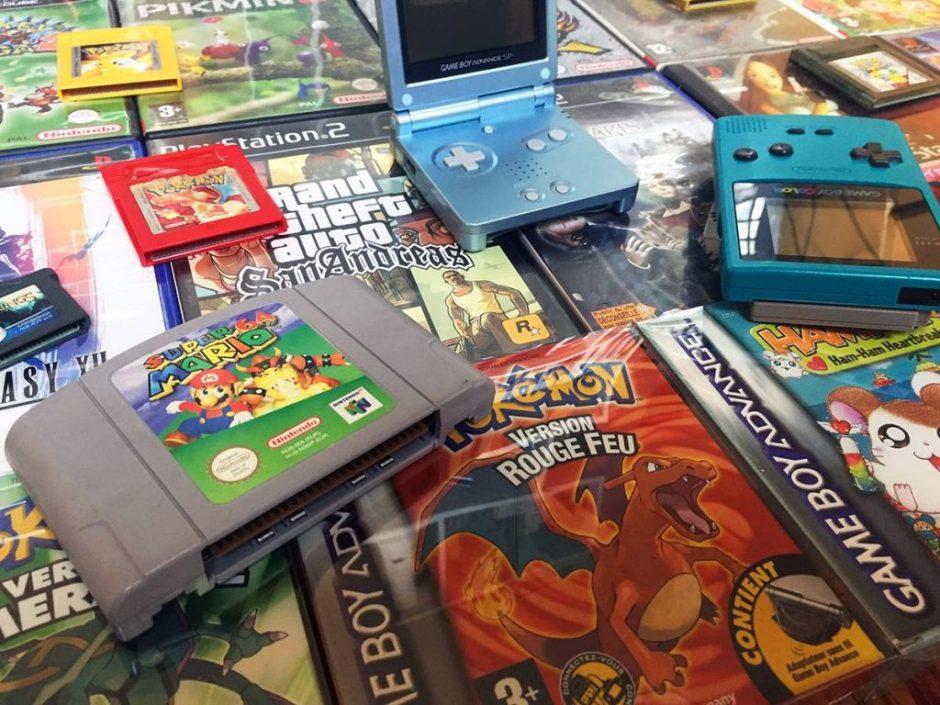 Où trouver des jeux video retro Paris