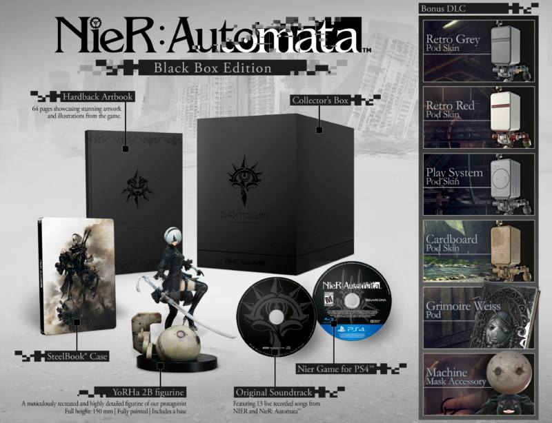 Nier Automata Collector