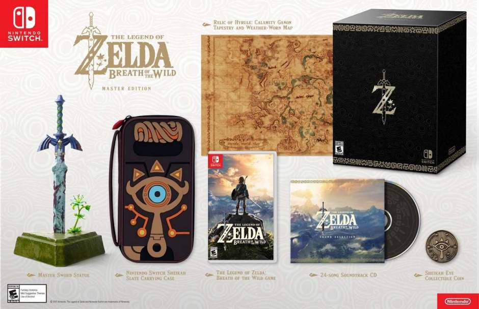 Zelda Breath of The Wild Collector