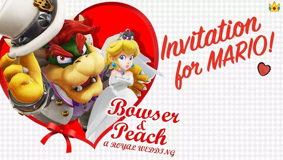 Mario Odyssey Peach Bowser
