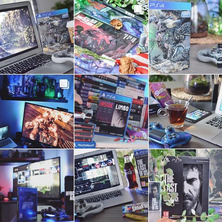 Pixel Life Instagram